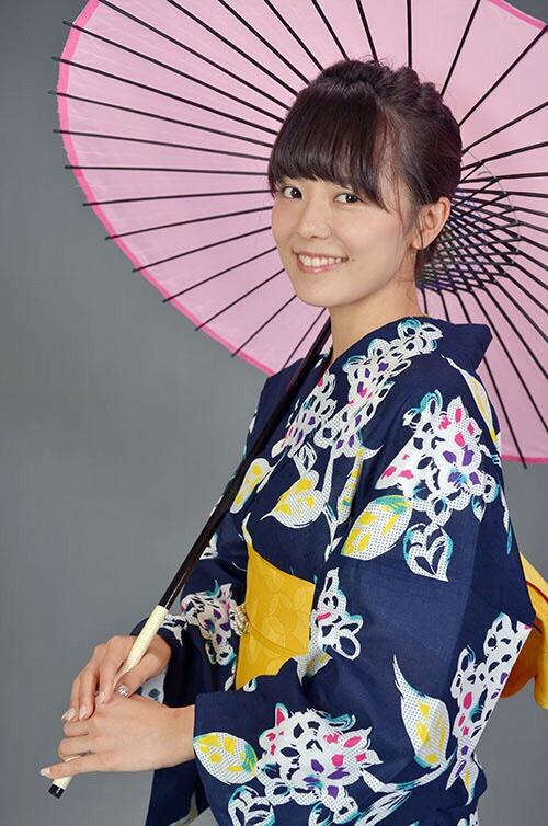 春日井市の浴衣美人さん!