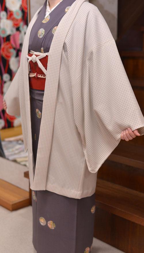 【季節商品のご紹介】着物の羽織コート、期間限定、割引き中♪