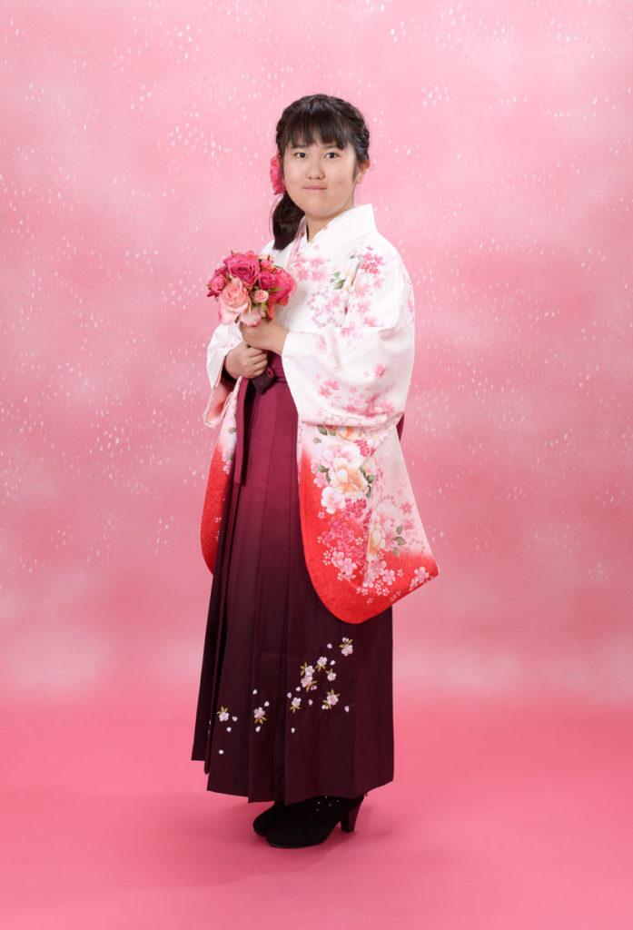 【卒業式袴】小学校ご卒業おめでとうございます♪