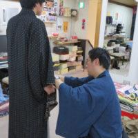 はじめての【男性着物】を応援!デニム着物、洗える着物、シルク着物♪