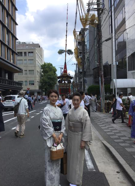 京都祇園まつりに行って参りました♪