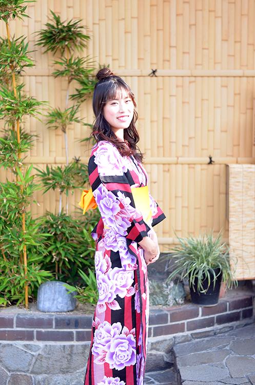 岡崎花火大会や、盆踊りには浴衣姿が素敵です♪