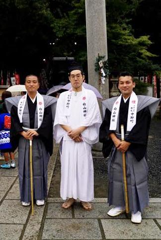 白山神社「秋の大祭」に二子町若旦那会で出させて頂きました!