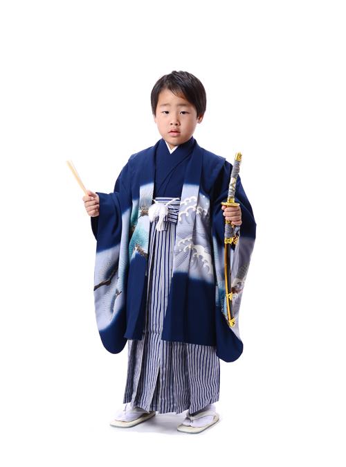 七五三 5歳 男の子羽織袴 格好良かったです!