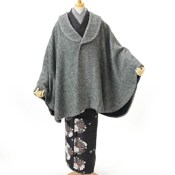 【寒い日におすすめ】和装コートのご紹介です♪