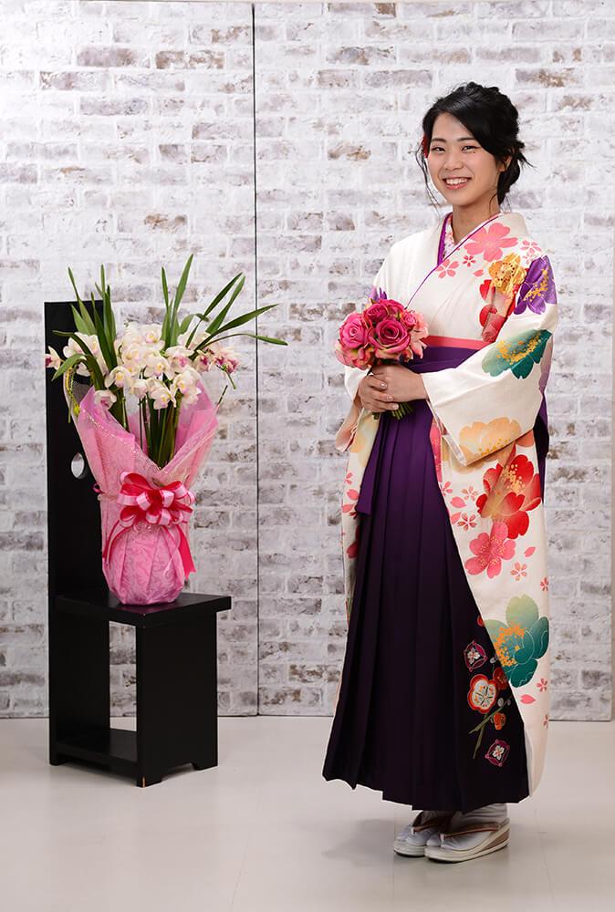 【卒業式袴】大変素敵な装いでした♪