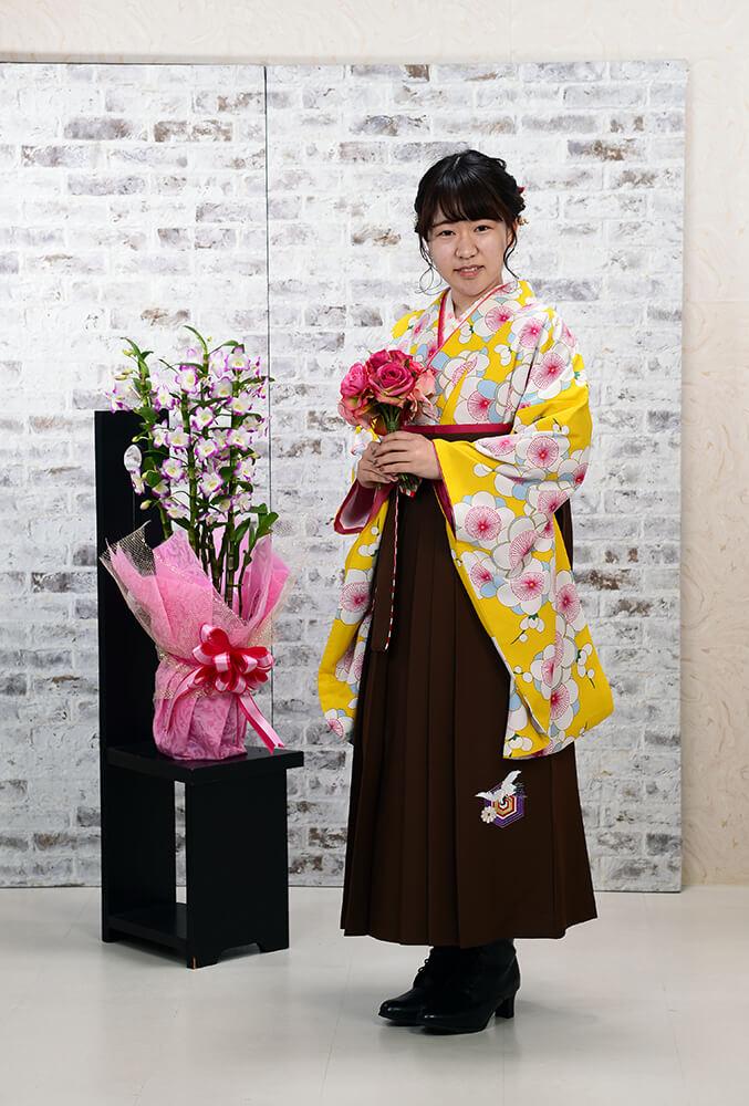 卒業式袴【様々なお着物の色で大変素敵でした♪】