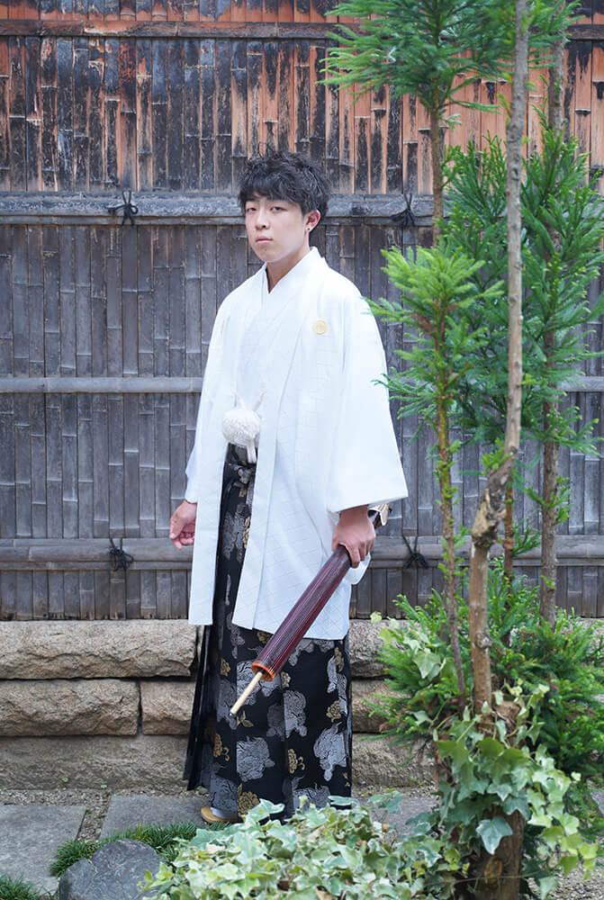 男子袴【お写真撮影】成人式前撮り